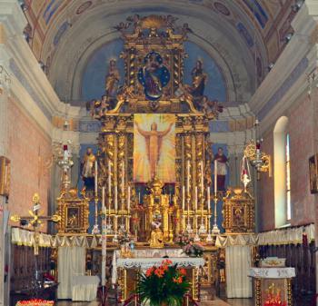 berzo s eusebio altare