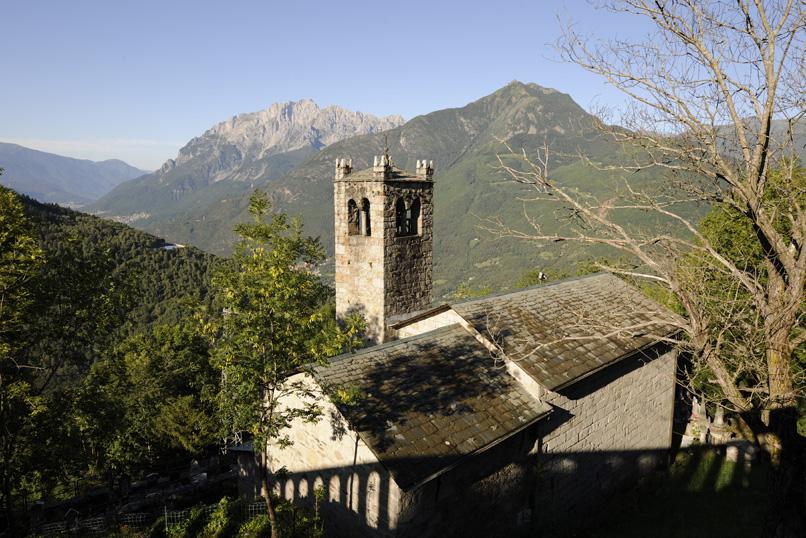 Cevo, chiesa di San Sisto