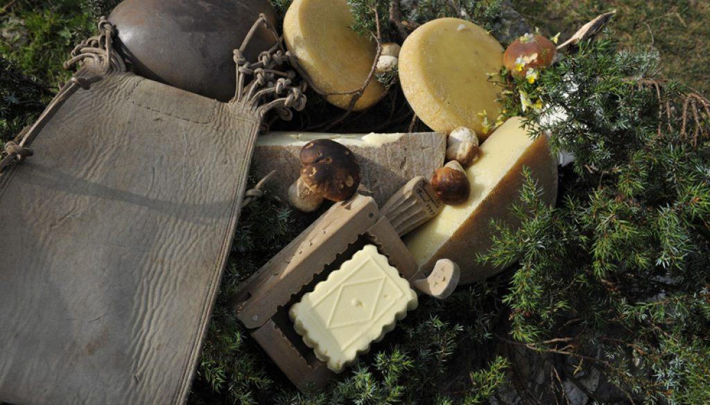 cibo burro e formaggio