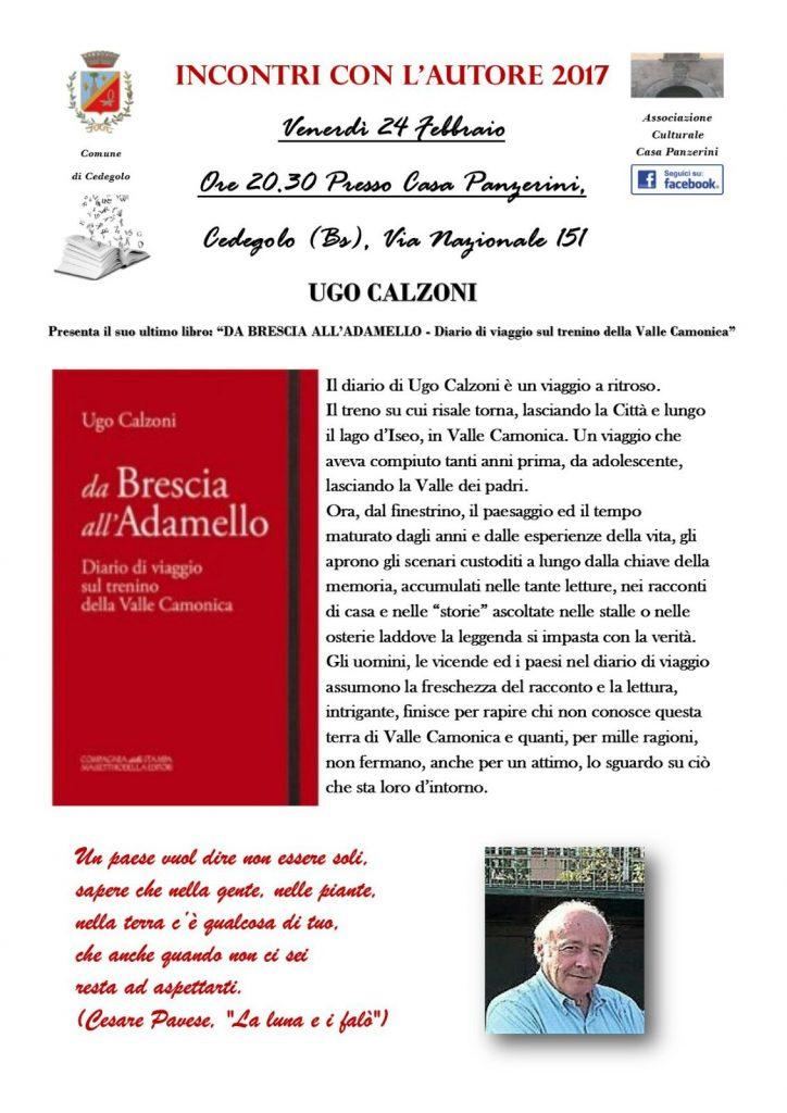 2017 24 Febbraio - Presentazione Libro -Ass.Culturale Casa Panzerini