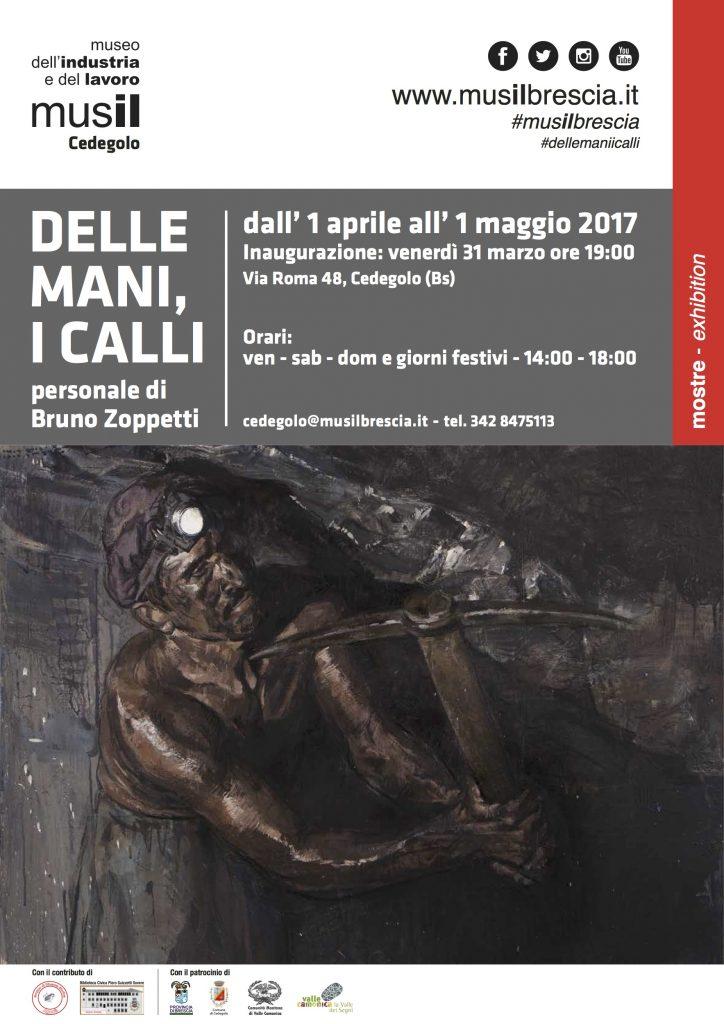2017 1 Aprile - 31 Maggio Mostra delle mani i calli - Musil