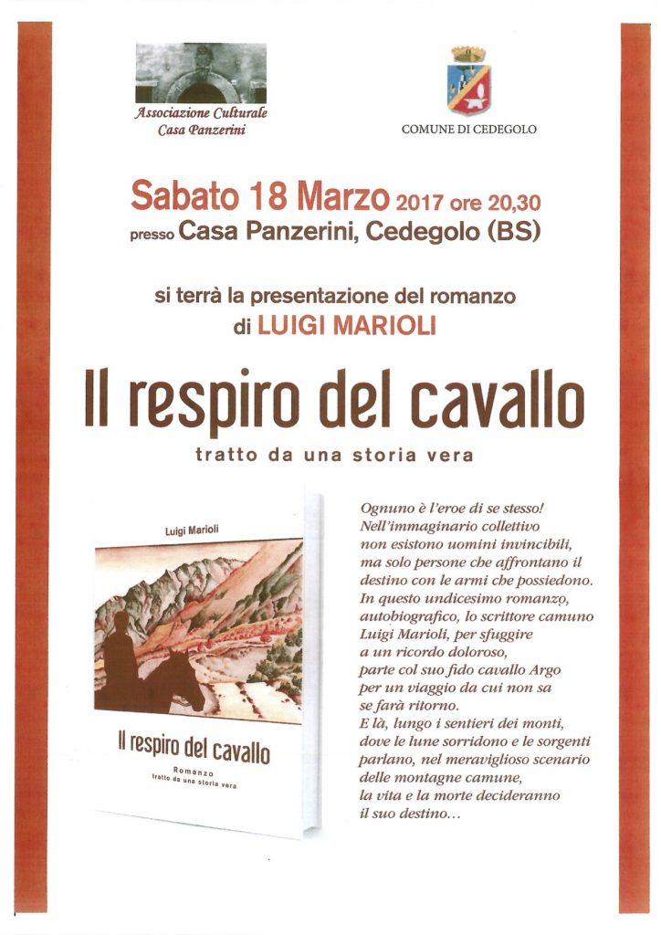 2017 18 Marzo - Presentazione libro - Ass. Culturale Casa Panzerini