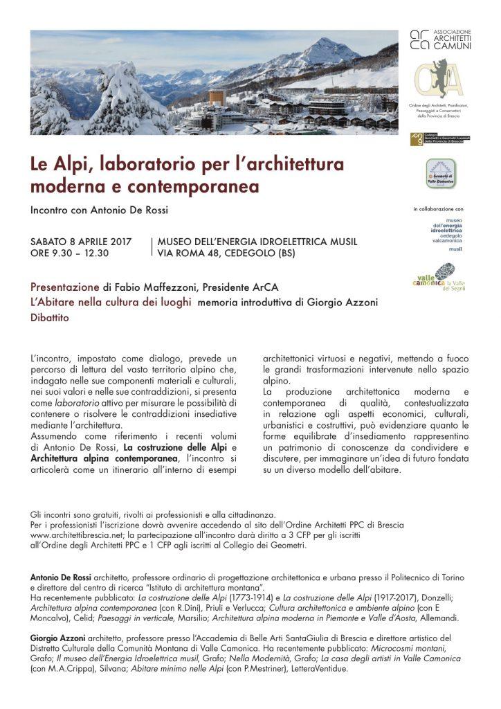 locandina cedegolo architetti