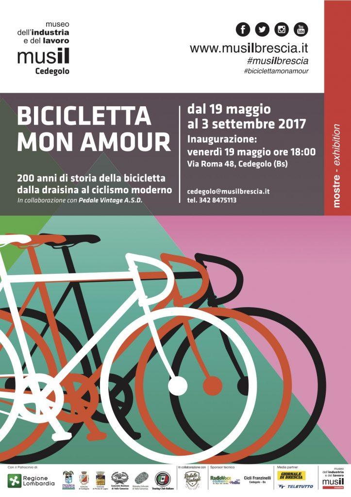 locandina Mostra Bicicletta mon amour - Musil