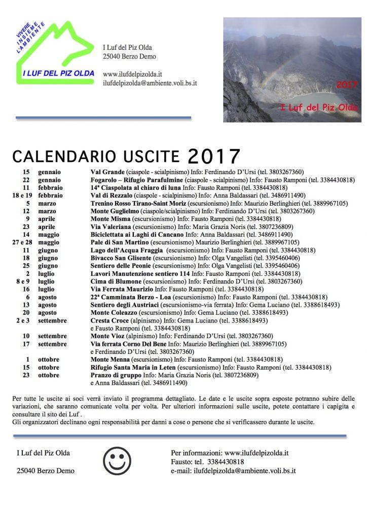 Programma Luf 2017