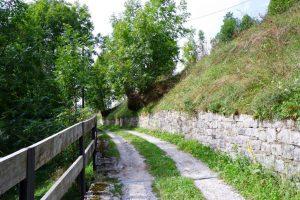 """Un tratto di percorso della Via della """"Bionda"""""""