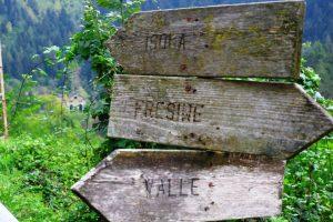 Vecchie indicazioni in Valsaviore