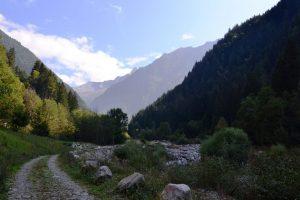 """Un tratto della parte bassa del percorso della Via della """"Bionda"""""""