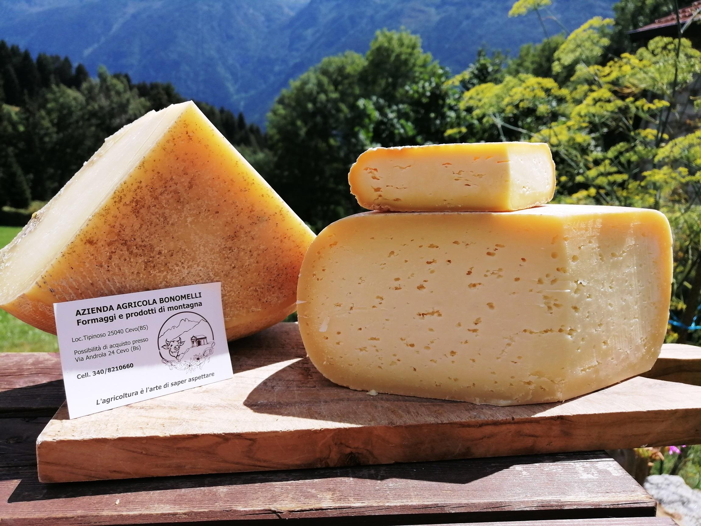 I gustosi formaggi della Valsaviore